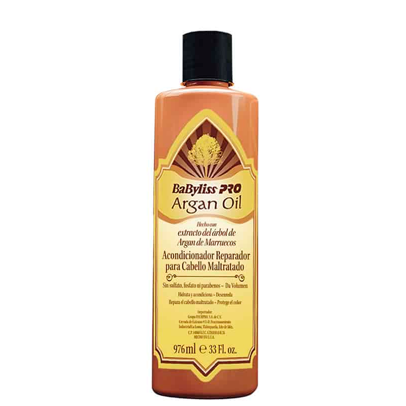 ACONDICIONADOR ARGAN OIL BABYLISS 976ML