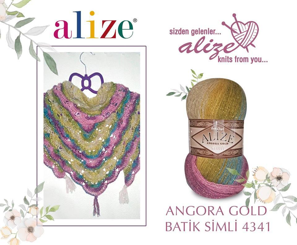 Angorita Gold Batik 4341
