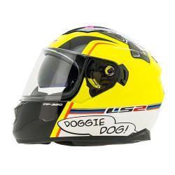 CASCO CERRADO LS2 STREAM EVO DOGGIE DOG FF320