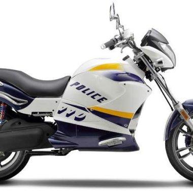 Police - Moto Eléctrica