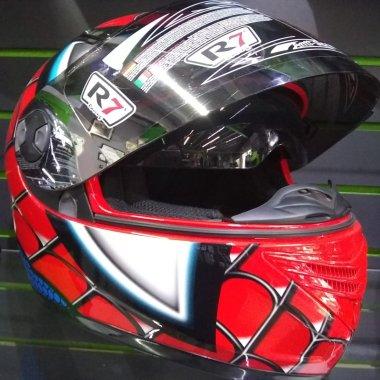 CASCO R7 RACING HOMBRE ARAÑA