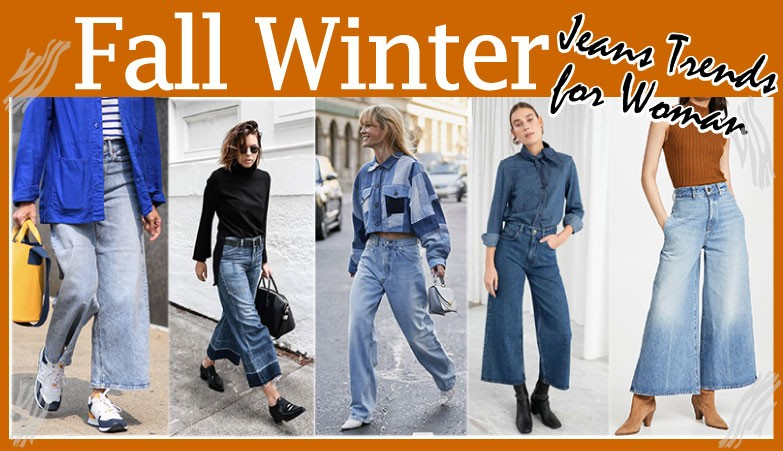 Fall winter Jeans woman