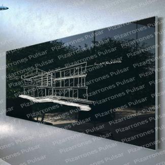Pizarrón de Cristal 90x120