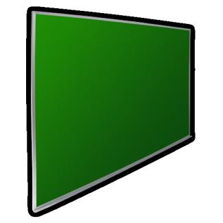 Pizarrón Verde 30x40