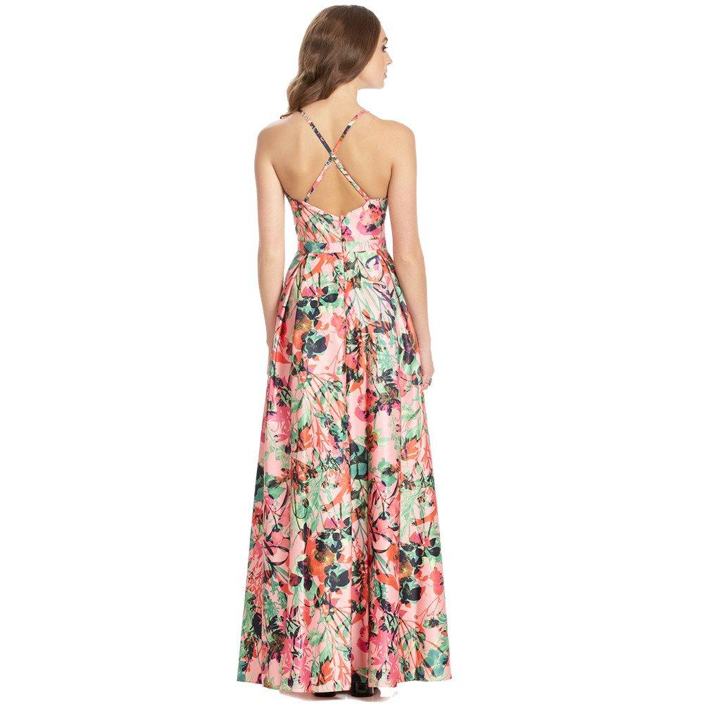 Karina vestido largo espalda descubierta