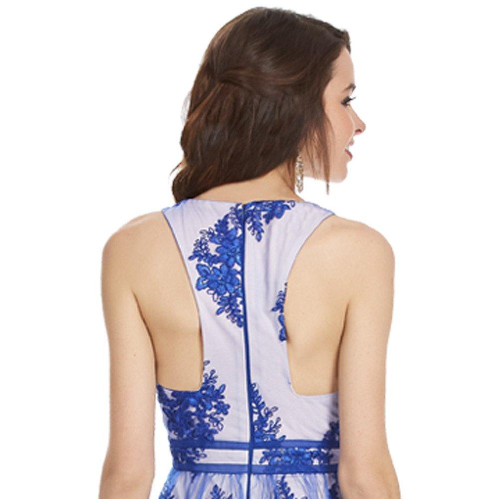 Evelyn vestido corto sin mangas espalda semi descubierta