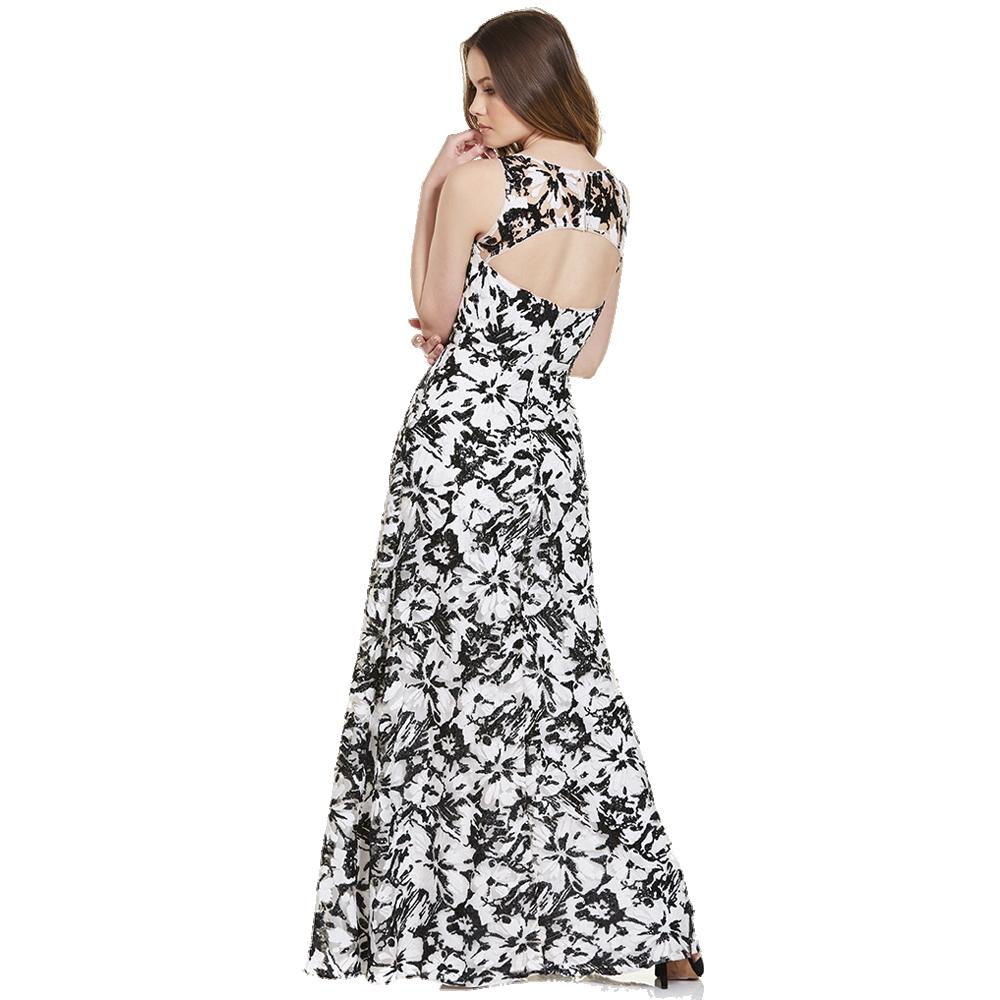 Noelia vestido largo escote en espalda