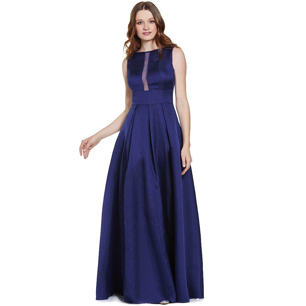 Alice vestido largo escote al centro