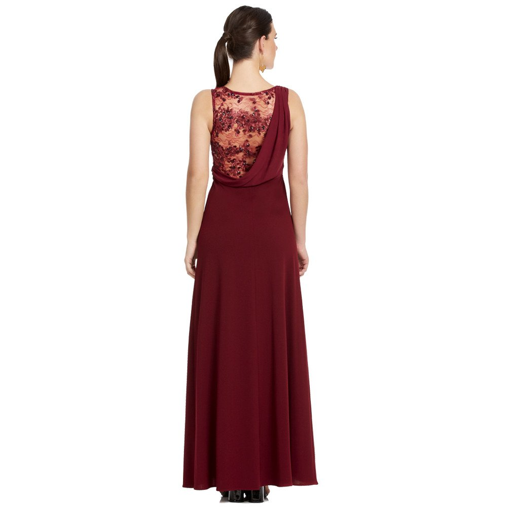 Minerva vestido largo sin manga con un toque de estilo griego