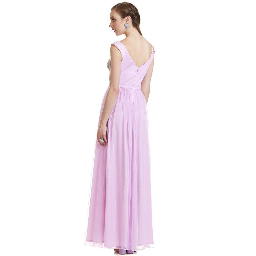 Ariadne vestido largo sin mangas y media espalda descubierta