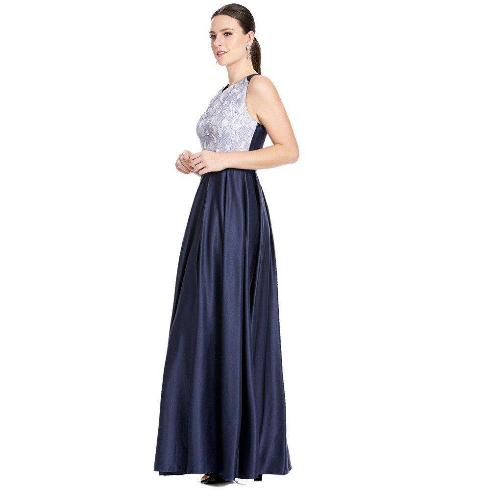 Scarleth vestido largo espalda descubierta