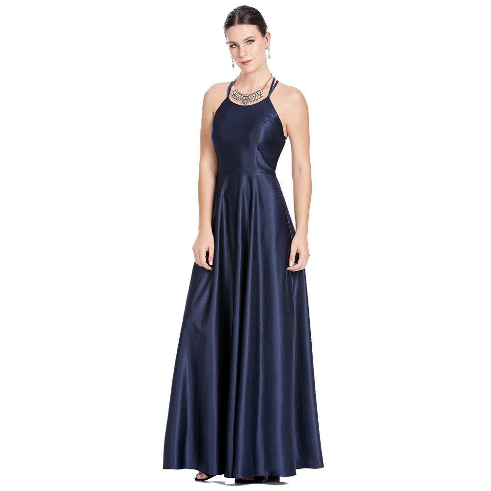 Theila vestido largo con escote sport ajustable