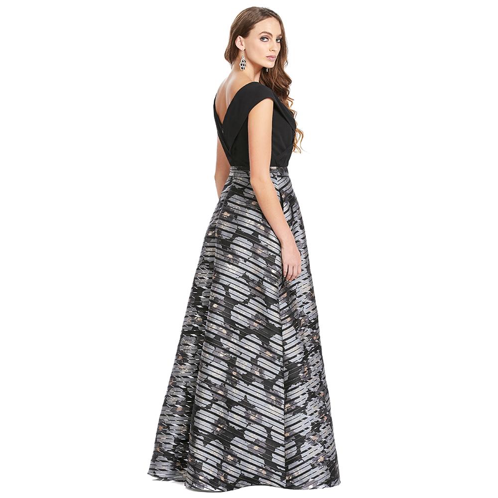 Olimpia vestido largo línea