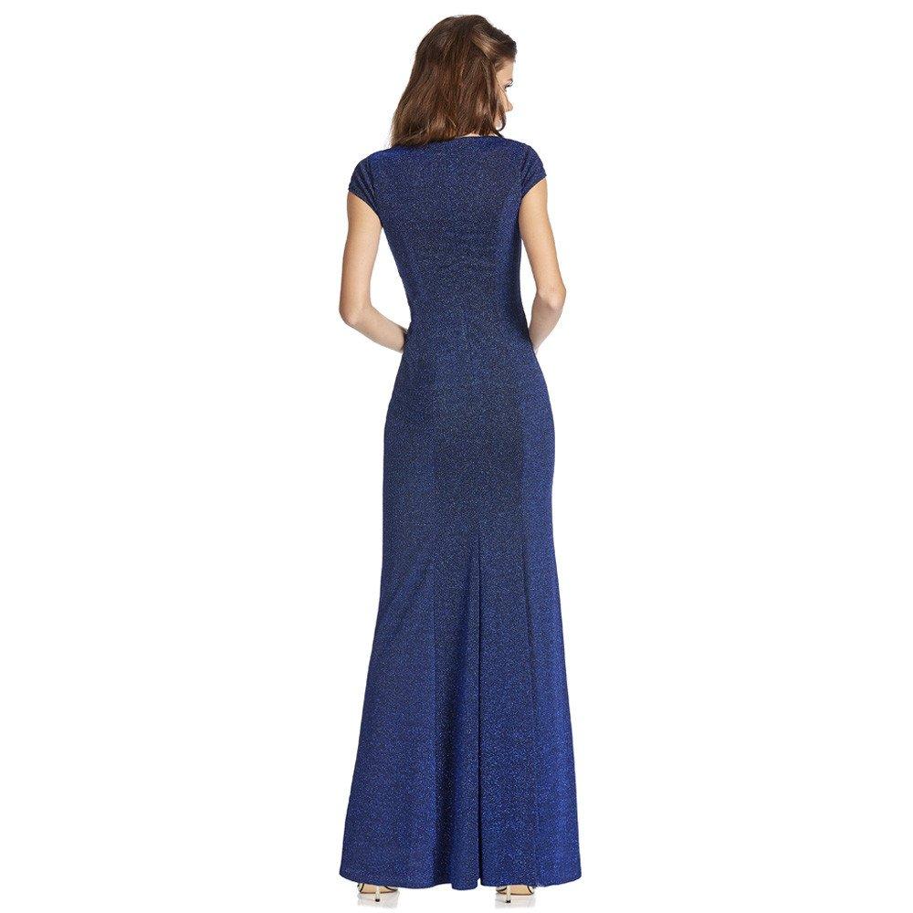 Marbella vestido largo tipo sirena con abertura