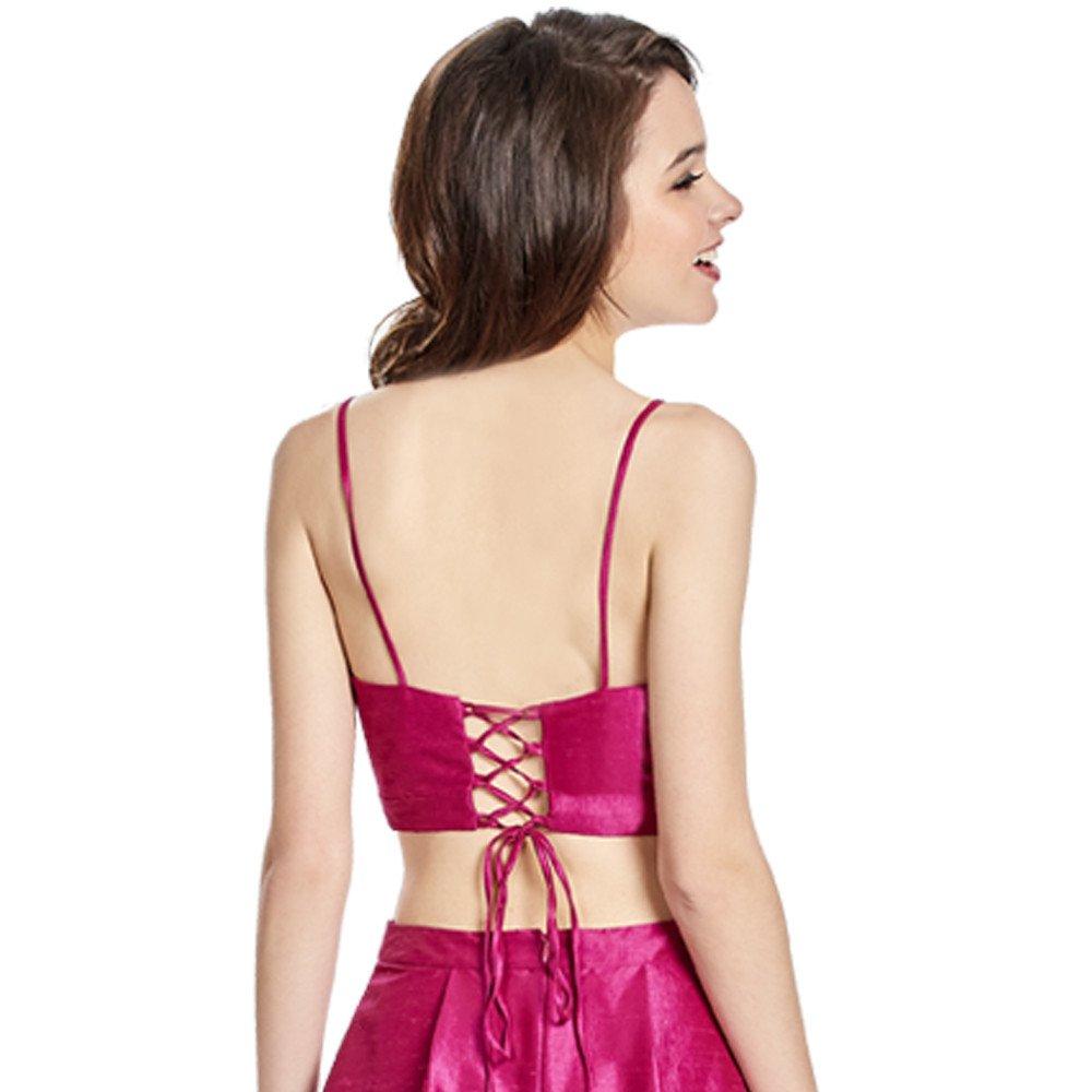 Teila vestido largo línea A crop top ajustable