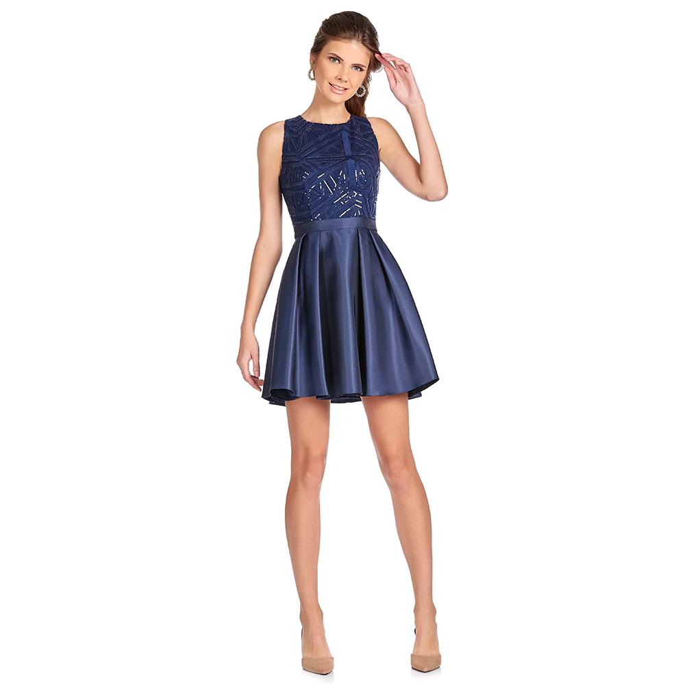 Isadora vestido corto con espalda deportiva