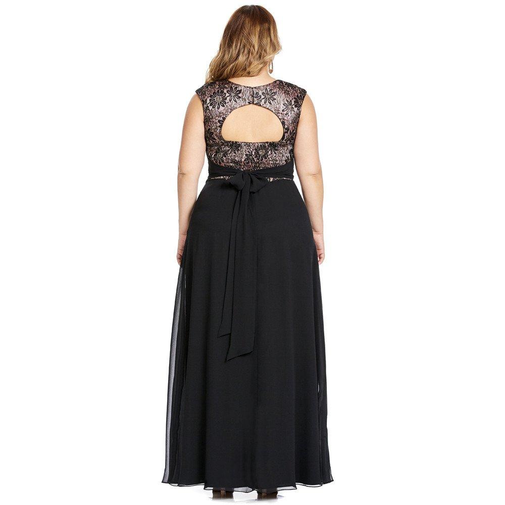 Gianna vestido largo escote en la espalda