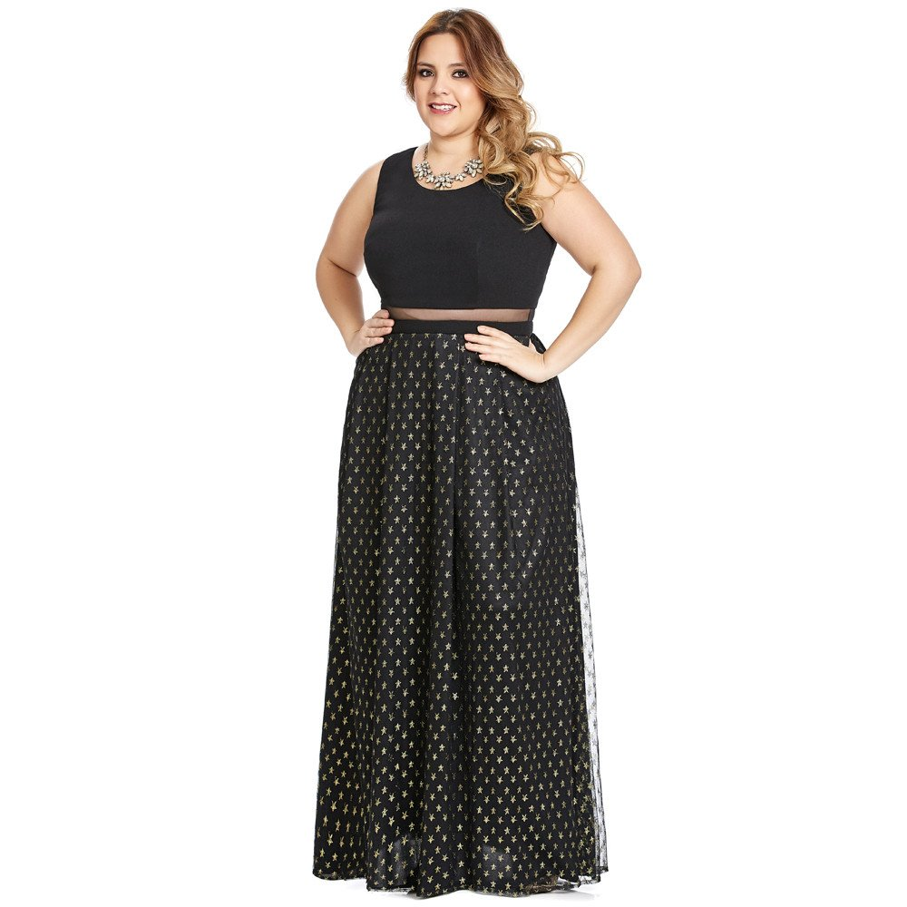 Lorenza vestido largo tipo crop top