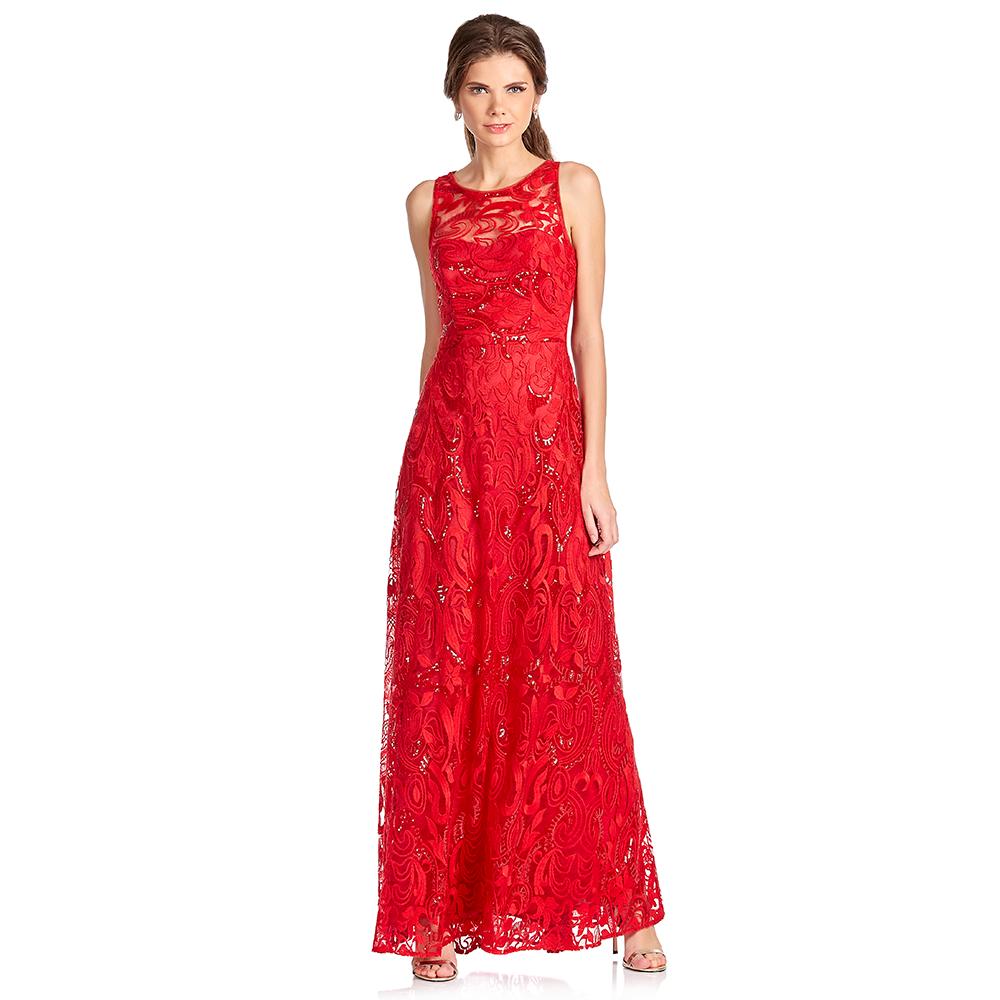 Marny vestido largo con diseño en espalda
