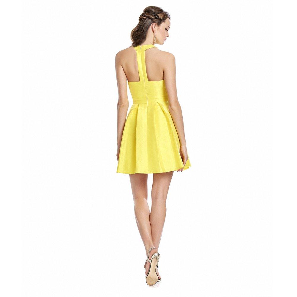 Nina vestido corto sin mangas y espalda semi descubierta