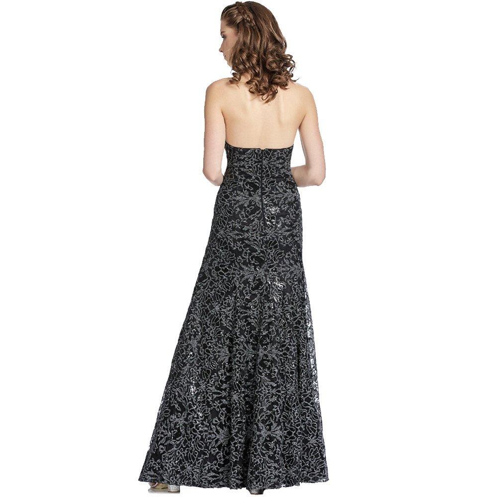 Naomi vestido largo halter de encaje