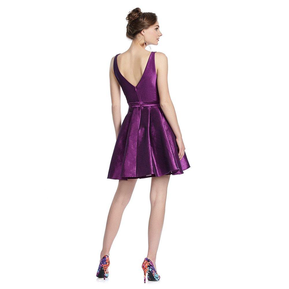 Abby vestido corto escote en espalda transparencias en los costados