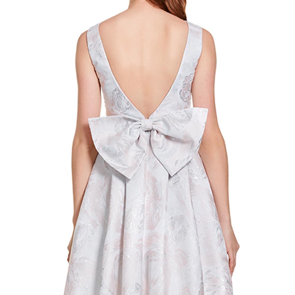 Cira vestido corto con moño