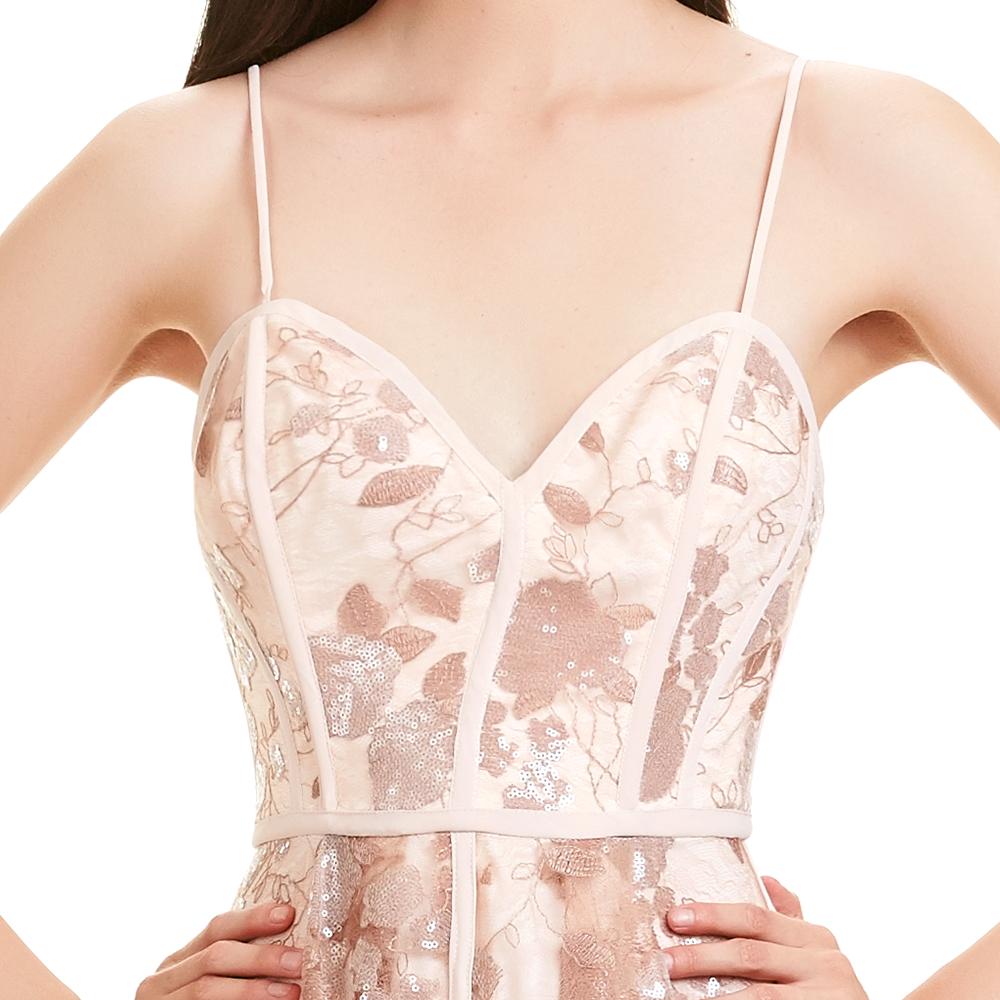 Diana vestido corto top escote corazon