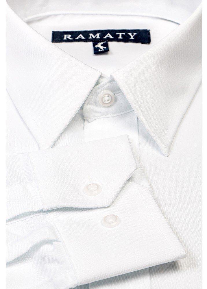 Camisa de Vestir Básica Blanca
