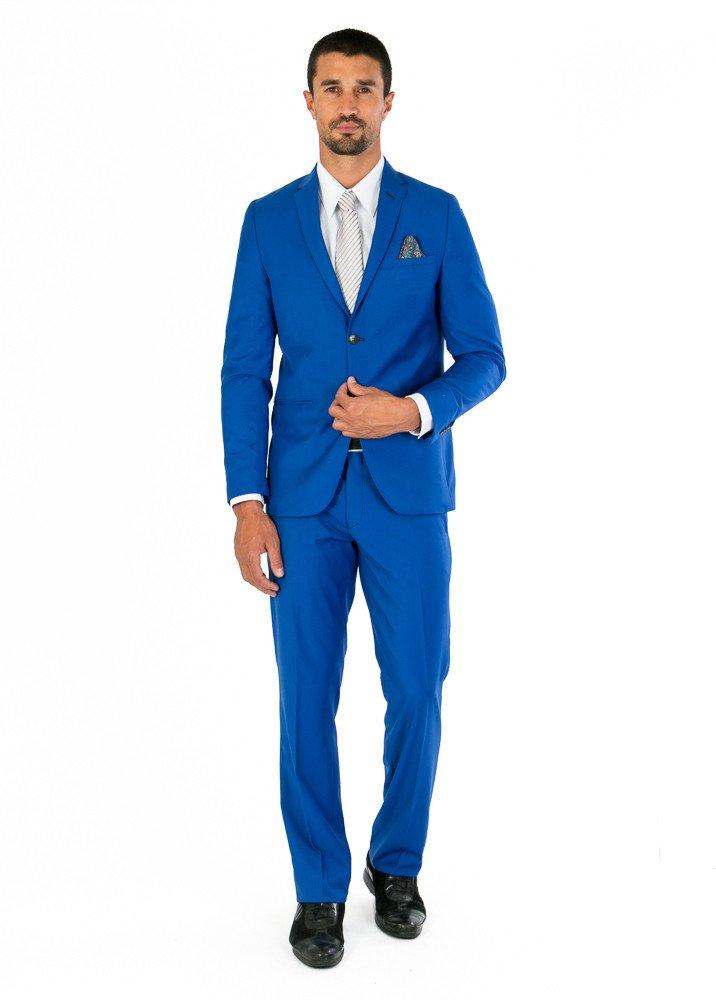 Traje de Caballero Slim Fit Azul Rey