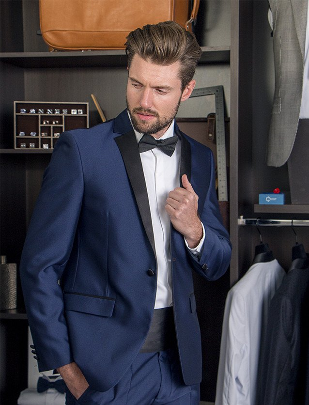 Traje Smoking Regular Fit