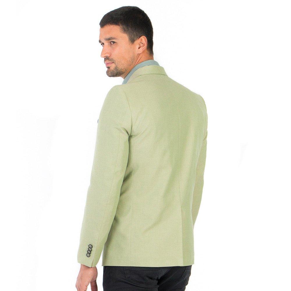 Saco de Caballero Recto Verde