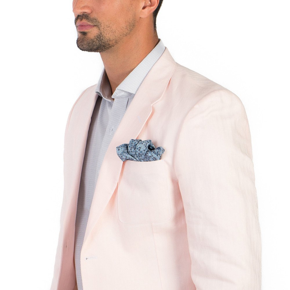 Saco de caballero Recto Rosa Pastel