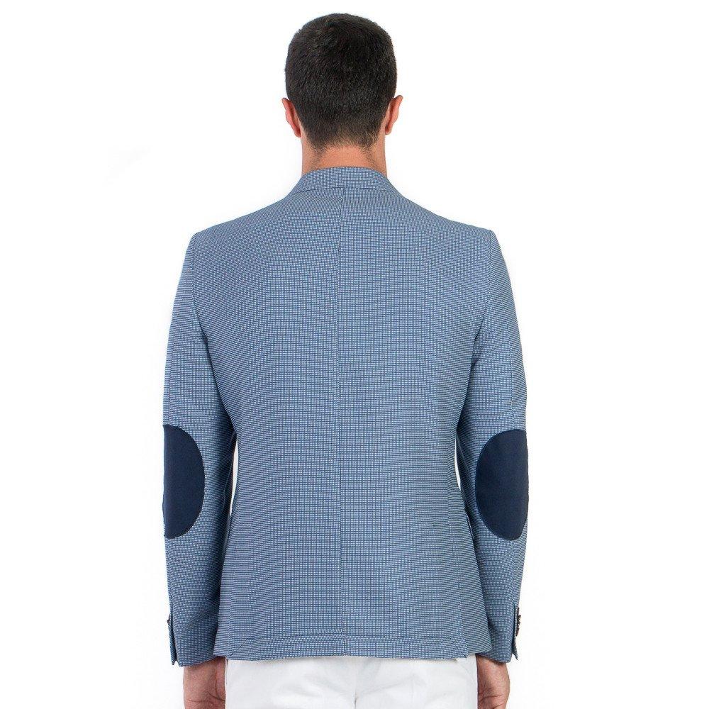 Saco de Caballero Desestruscturado Azul Marino