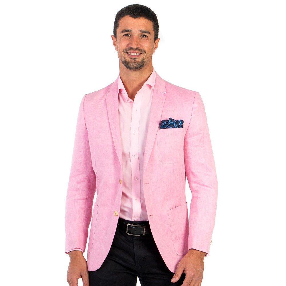 Saco Casual Caballero Rosa