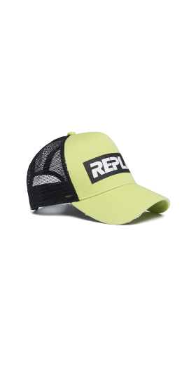 Baseball cap with mesh
