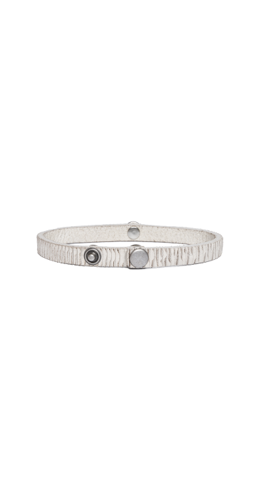 VELVET LEATHER REPLAY BRACELET