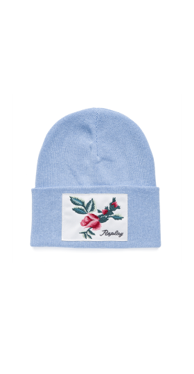 KNIT COTTON REPLAY BEANIE