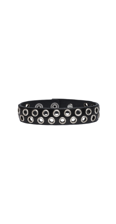 BRACELET WITH PUNCHED STUDS