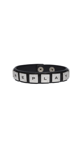 LEATHER BRACELET WITH STUDS