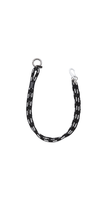 JEANS CHAIN IN INTERLACED CORD