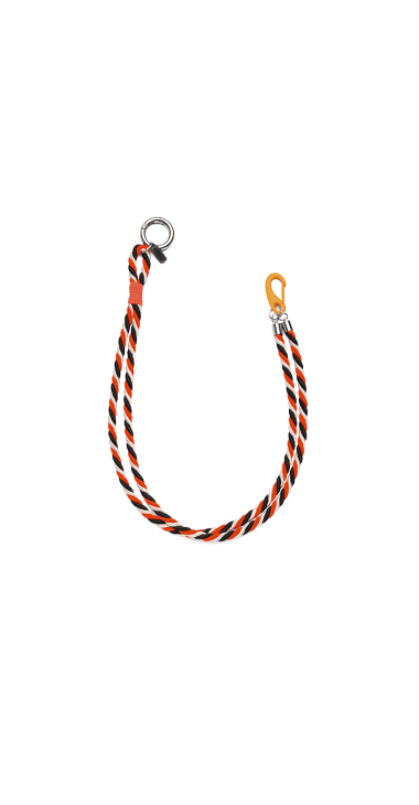 image of INTERLACED CORD JEANS CHAIN