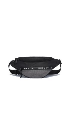 REPLAY NYLON WAIST BAG