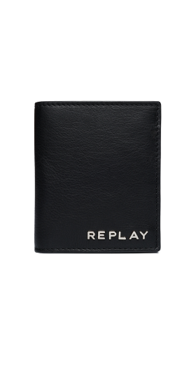 LEATHER WALLET WITH BUTTON