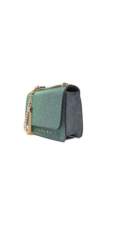 Glitter shoulder bag