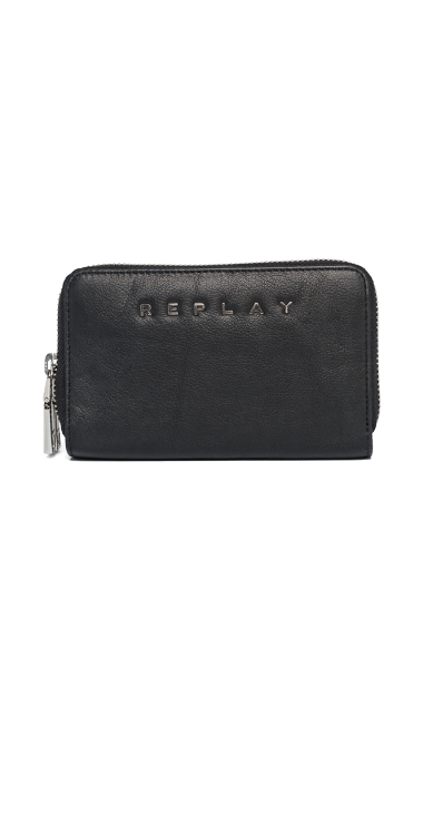 LEATHER GUSSET WALLET