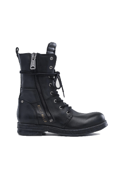 WOMEN'S EVY LACE UP LEATHER BOOTS