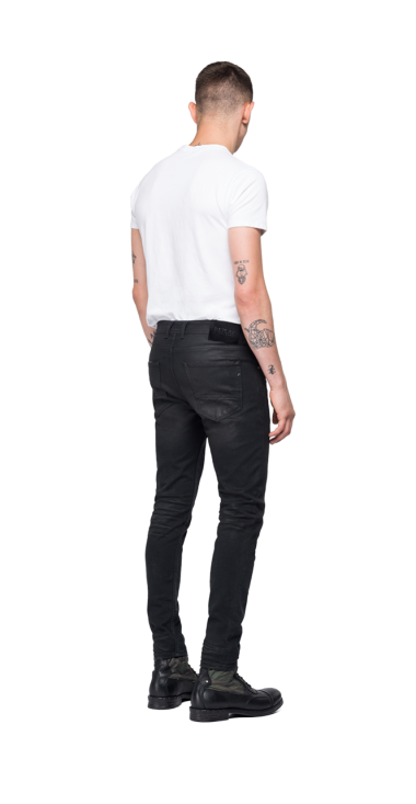 SKINNY FIT LOW CROTCH JOHNFRUS JEANS