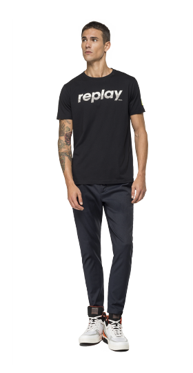 COTTON REPLAY T-SHIRT