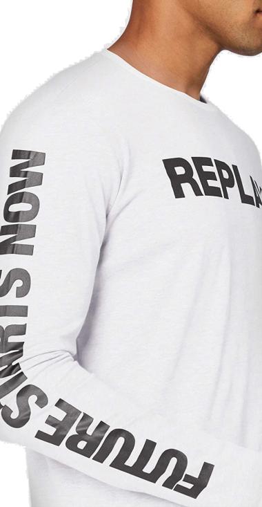 LONG-SLEEVED REPLAY T-SHIRT